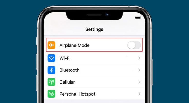 airplane mode iphone 13