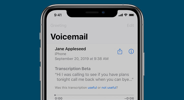 set up voicemail on iphone 13